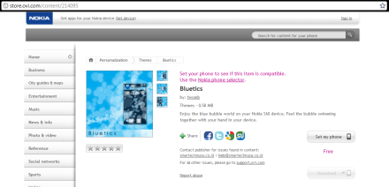 Bluetics at Nokia Store