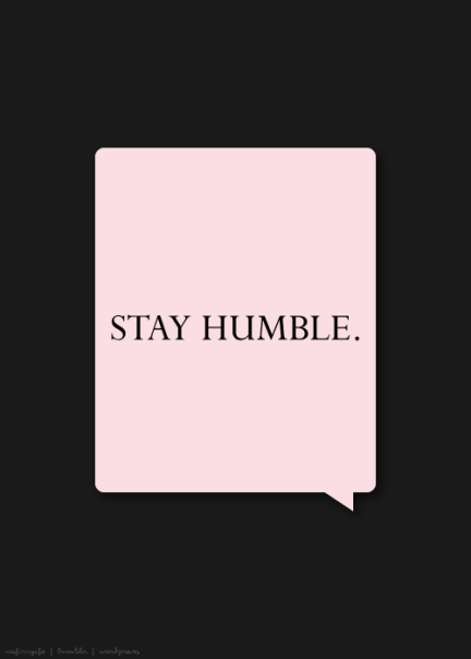 stay-humble